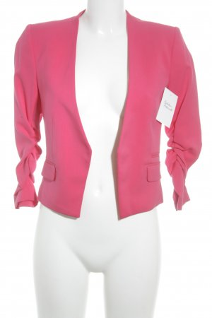 H&M Long-Blazer magenta Casual-Look
