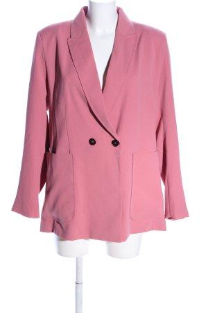 H&M Long-Blazer pink Business-Look