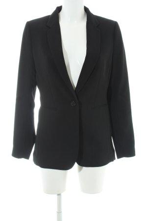 H&M Long-Blazer schwarz Business-Look