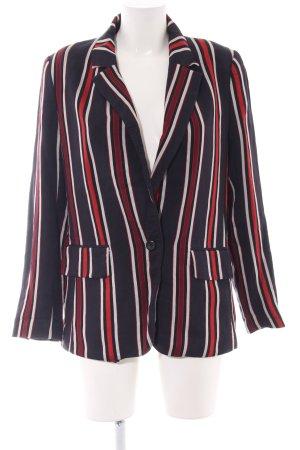 H&M Long-Blazer Streifenmuster Casual-Look
