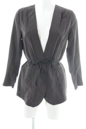 H&M Long-Blazer taupe Elegant