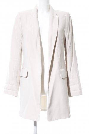 H&M Long-Blazer weiß Casual-Look