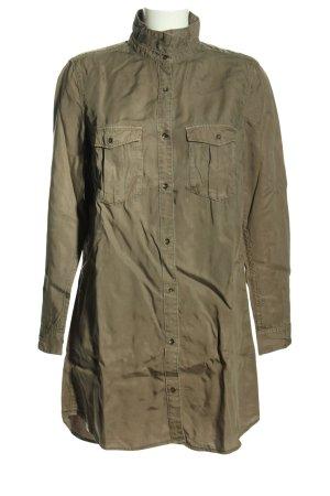 H&M Long Blouse khaki casual look