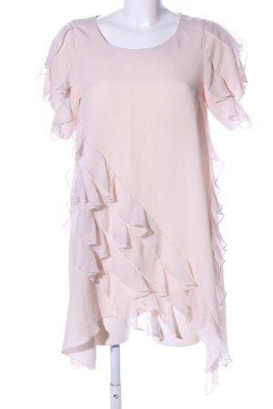 H&M Long-Bluse creme Elegant