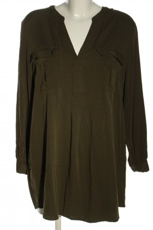 H&M Long-Bluse khaki Business-Look