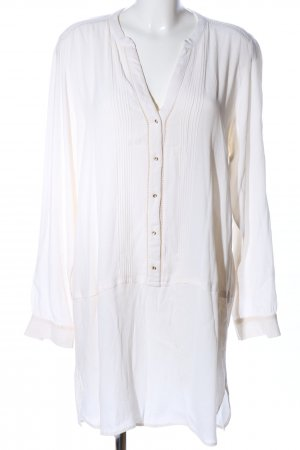 H&M Long-Bluse weiß Business-Look