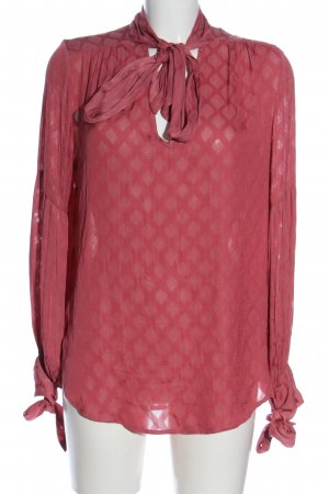 H&M Long-Bluse pink Allover-Druck Casual-Look
