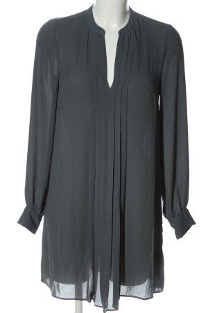 H&M Blusa larga gris claro look casual