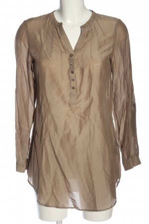 H&M Long-Bluse bronzefarben Casual-Look