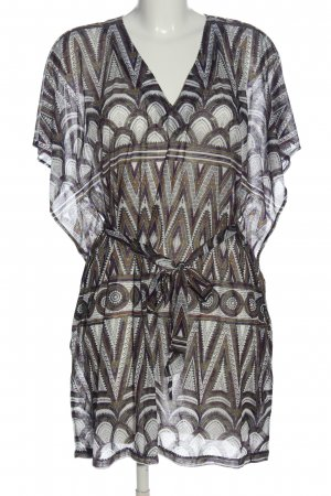 H&M Long-Bluse Allover-Druck Casual-Look