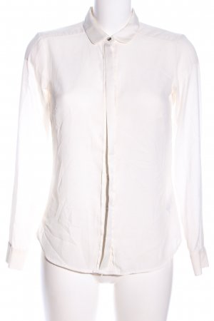 H&M Long Blouse natural white business style