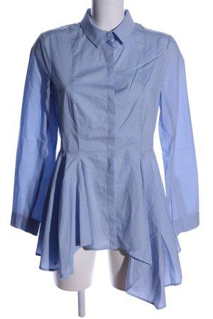 H&M Long-Bluse blau Casual-Look