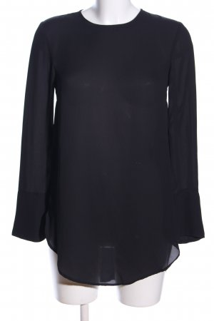 H&M Long-Bluse schwarz Business-Look