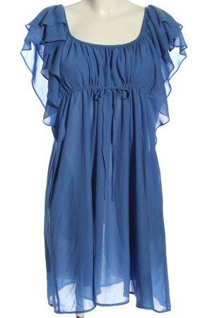H&M Long-Bluse blau Elegant