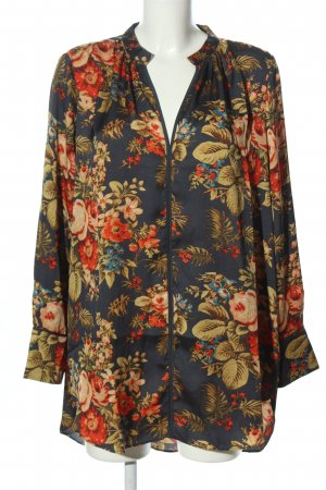 H&M Long Blouse allover print business style