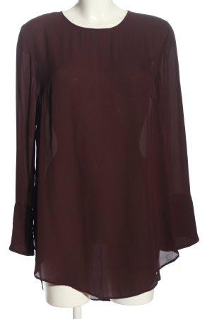 H&M Lange blouse bruin casual uitstraling