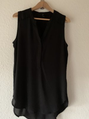 H&M Long-Bluse schwarz casual