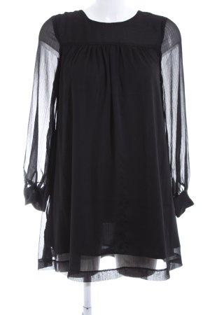 H&M Long-Bluse schwarz Elegant