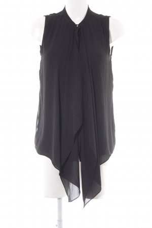 H&M Long-Bluse schwarz Lagen-Look