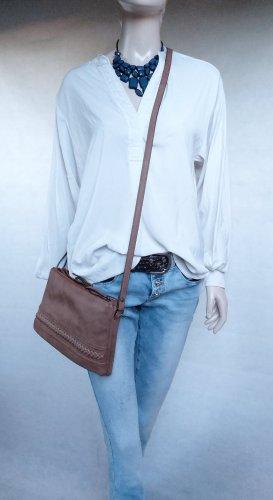 H&M Longbluse Offwhite Gr. 38 - Neuwertig