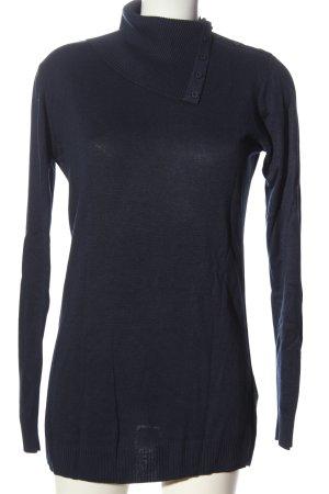 H&M Longpullover blau Casual-Look