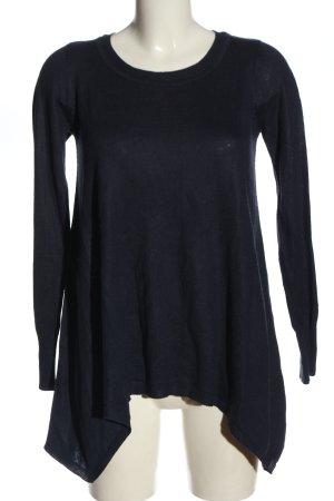 H&M Długi sweter niebieski W stylu casual