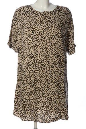 H&M Longshirt Animalmuster Casual-Look