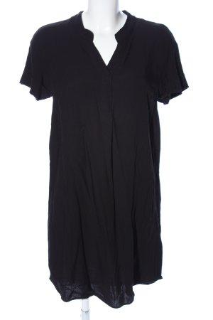 H&M Longshirt schwarz Casual-Look