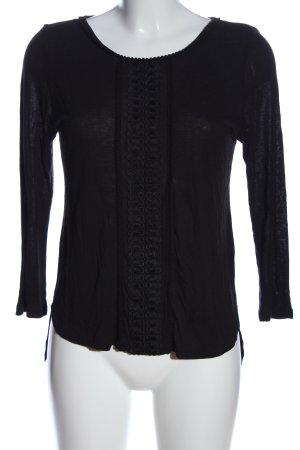 H&M Longsleeve schwarz Casual-Look