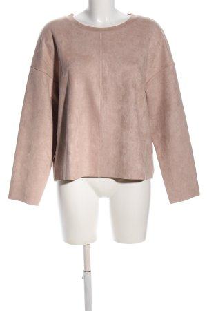 H&M Longsleeve pink meliert Casual-Look
