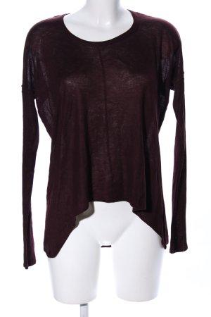 H&M Longsleeve rot Casual-Look
