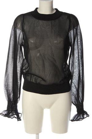 H&M Longsleeve schwarz Elegant