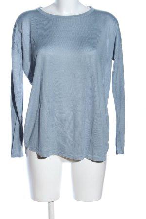 H&M Longsleeve blau Casual-Look