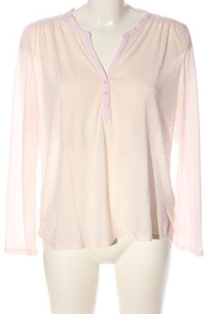 H&M Longsleeve creme-pink Casual-Look