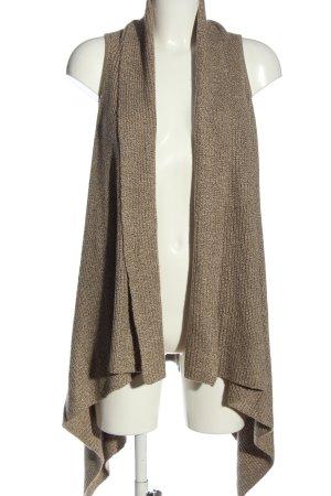 H&M Gilet long tricoté brun style décontracté