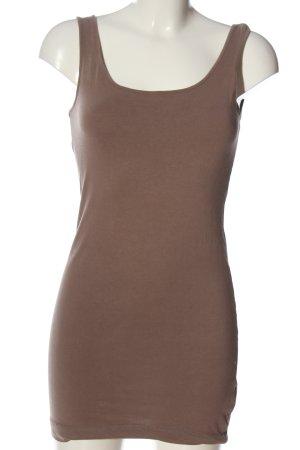 H&M Długi top brązowy W stylu casual