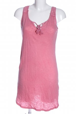 H&M Lange top roze casual uitstraling