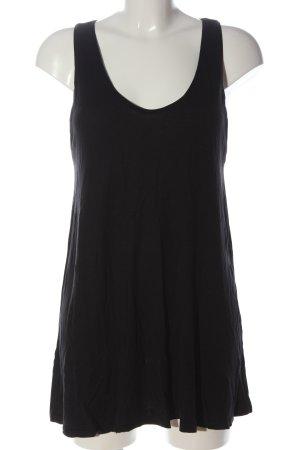 H&M Lange top zwart casual uitstraling