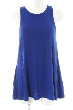 H&M Top lungo blu stile casual