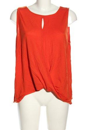 H&M Długi top jasny pomarańczowy W stylu casual