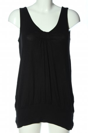 H&M Longtop schwarz Casual-Look