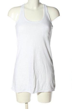 H&M Długi top biały W stylu casual
