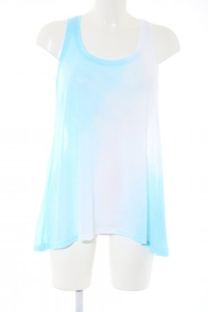 H&M Long Top blue-white color gradient casual look