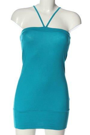 H&M Longtop blau Casual-Look