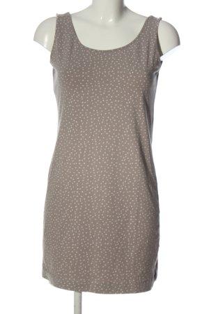 H&M Lange top lichtgrijs-wolwit volledige print casual uitstraling