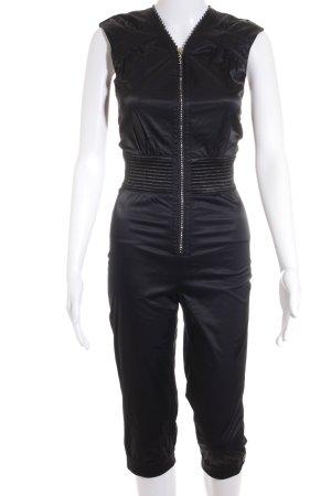 H&M M By Madonna Jumpsuit schwarz extravaganter Stil