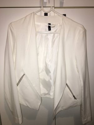 H&M Manteau court blanc