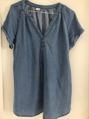 H&M Mama Blouse en jean bleu acier