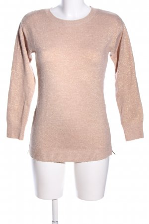 H&M Mama Rundhalspullover nude meliert Casual-Look