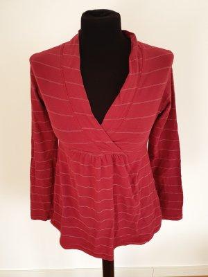H&M Mama Koszulka w paski biały-ciemnoczerwony